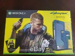 Microsoft Xbox One X 1tb Cyberpunk 2077 Limitée Console Édition (tout Neuf)
