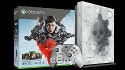 Microsoft Xbox One X 1tb Gears 5 Limitée Console Bundle Édition Brand New Sealed