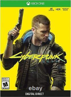 Microsoft Xbox One X Cyberpunk 2077 Limited Edition Bundle-1 To (flambant Neuf!)