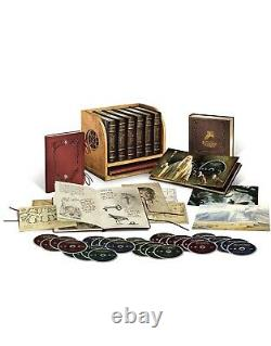 Middle-earth 6-film Limited Collector's Edition (blu-ray + Dvd) Flambant Neuf