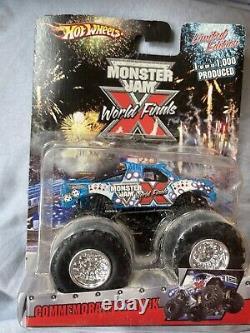 Monster Jam World Finals X Limited Edition 1/1000 Flambant Neuf Ouvert Légèrement