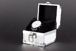 Montre Chronographe Bauhaus Blanc, Édition Limitée, Neuf + Écrin! Vente