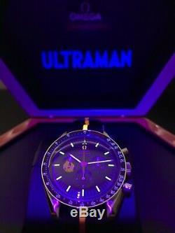 Montre Omega Ultraman Speed master St2 Moon, Édition Limitée, Nouveau Ensemble Complet