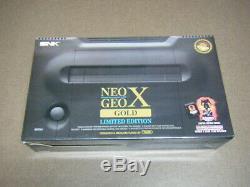 Neo Geo X Or Édition Limitée Low Etanche Serie Original Japon