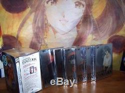 Neon Genesis Evangelion Platinum Marque Le Nouveau Complete Box Set DVD Collection