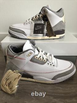 Nike Air Jordan 3 A Ma Maniere Amm Taille 9.5avec 8m Dh3434-110 Neuf