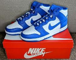 Nike Dunk High Game Royal, Taille Américaine Masculine 14, Neuf En Boîte, Dd1399-102