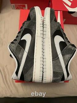 Nike Dunk Low Retro Prm Animal Pack Zebra Taille 8.5 Homme Nouvelle Marque