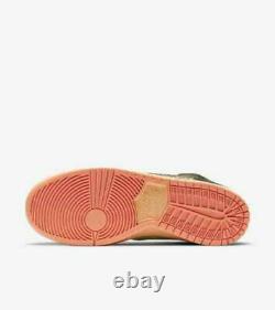 Nike Sb Concepts Dunk Hi Mallard/turdunken Taille Us 10, Flambant Neuf