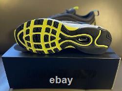 Nike X Air Invaincu Max 97 Black Volt Dc4830-001 Taille 11 Neuf