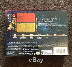 Nintendo 3ds XL Samus Édition Metroid Rare Retour Édition Limitée