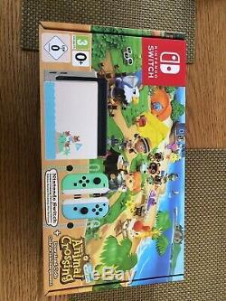 Nintendo Basculez Animal Crossing Limitée Console Édition Encore Tout Neuf En Boite