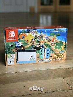 Nintendo Commutateur Animal Crossing Édition Brand New Edition Limitée, Livraison Rapide