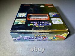 Nintendo Game Boy Color Pokemon Limited Edition Flambant Neuf