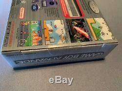 Nintendo Gameboy Advance Platinum Limited Edition Marque Nouveau