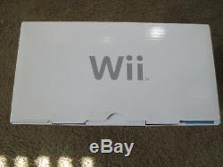 Nouveau Console Console Bleue Nintendo Wii Edition Limitée