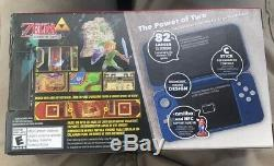 Nouveau Kit Système Nintendo 2ds XL Hylian Shield Limited Edition Neuf