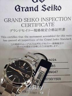 Nouvel Ensemble 2018 Grand Seiko 20th Anniversary Limited Edition 2018 Complet / Garantie