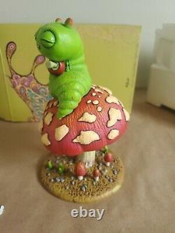 Nouvelle Marque Marq Spusta Baby Glissed Out Bug Statue De Résine Figure #/515 & Imprimer