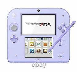 Nouvelle Marque Nintendo 2ds Lavande Ntsc-j