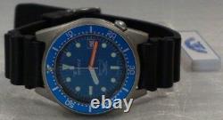 Nouvelle Marque Squale 1521 50 Atmos Blue 026-m Garantie De Montre Mat Fabriquée En Suisse