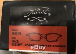 Oakley X Metal Juliet Ducati Limited Edition Carbon / Black Iridium Tout Neuf