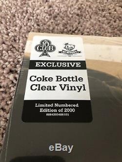 Pearl Jam Ten Coke Bottle Vinyle Clair Édition Limitée 468/2000 Neuf Scellé