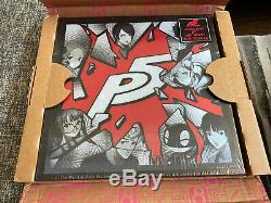 Persona 5 Deluxe Edition Disque Vinyle Neuf 6 Lp Ps4 Iam8bit 1000 Made Atlus