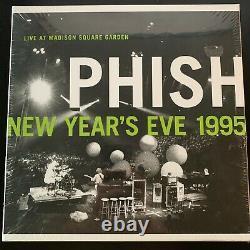 Phish, Live At Msg New Years Eve 1995, Tout Nouveau Et Scellé Rsd Boîte En Vinyle Set Rare