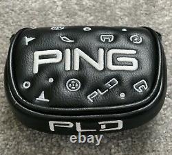 Ping Prime Tyne 4 Pld Black Out 35 Rh Mallet Putter Toute Nouvelle Édition Limitée