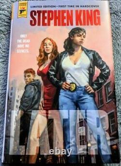 Plus Tard, Par Stephen King Limited Edition (hardcover 2021)