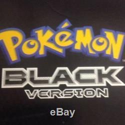 Pokemon Version Noire Limited Edition Dsi Bundle Marque Nouvelle Et Scellée Rare