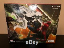 Rare Playstation Ps4 Pro 1tb Limited Edition Spider-man Console Bundle Tout Neuf