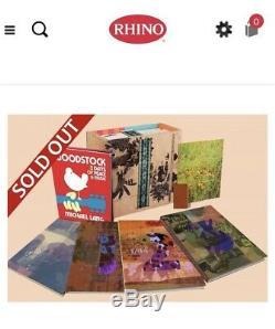 Rhino Woodstock-retour Au Jardin Le Archivé Définitif Du 50e Anniv Marque Nouveau