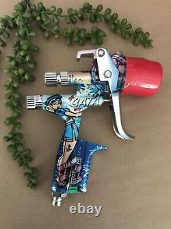 SATA Jet 5000 B Hvlp 1.3 Paint Gun Sailor Edition Limited / Rare Brand Nouveau