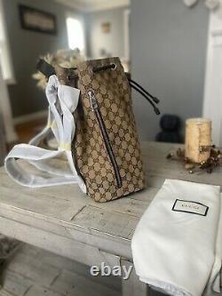 Sac À Dos Authentique Gucci Drawstring. Nouveauté Avec Les Étiquettes