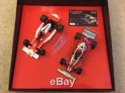 Scalextric Limited Edition F1 1976 James Hunt Et Niki Lauda C2558a Marque Nouveau