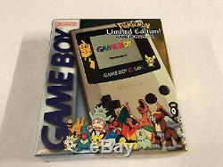 Scellé Nintendo Gameboy Color USA Pokemon Limited Edition Marque Nouveau (2)