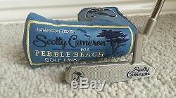 Scotty Cameron Pebble Beach Newport Édition Limitée 1/250 Nouvelle