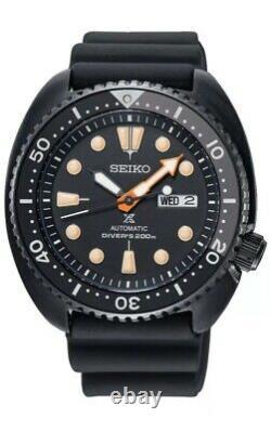 Seiko Prospex Srpc49 Ninja Turtle Black Series Edition Limitée Brand New Unworn