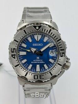 Seiko Sbdc067 Monstre Bleu Récif Corallien, Édition Limitée, Neuf
