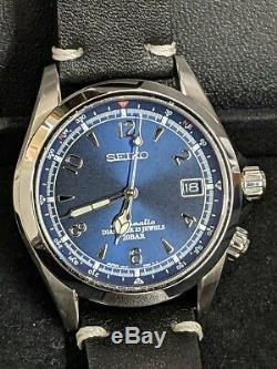 Seiko Spb089 Alpiniste Bleu Edition Limitée Automatique Marque Nouveau