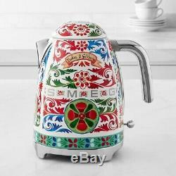 Smeg Kettle 50 Ans Designer Retro Dolce & Gabbana Limited Edition Marque Nouveau