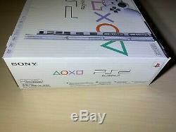 Sony Playstation 2 Slim Blanc Ps2 Ntsc Console Marque Neuf Dans La Boîte