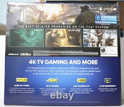 Sony Playstation 4 Pro Modern Warfare Limited Edition 1tb Console Brand New Ps4