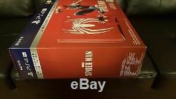 Spider-man Ps4 Pro 1tb Limited Edition Console Incroyable Red Brand New
