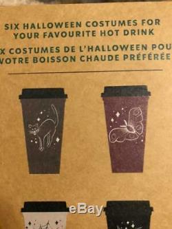 Starbucks 2019 Automne Halloween Réutilisables Hot Cups Limited Edition Marque Nouveau Dans La Boîte