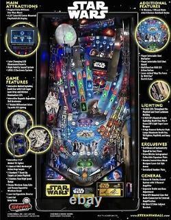 Stern Star Wars Le Limited Edition Flambant Neuf Encore Scellé Dans La Boîte