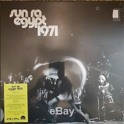 Sun Ra Egypte 1971 Box Set Lp Rsd 2020 Neuf Sealed Limitée