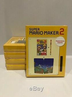Super Mario Maker 2 Pack Édition Limitée Nintendo Switch Neuf Scellé